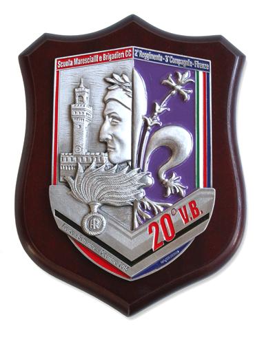 Crest Personalizzato Scuola Marescialli