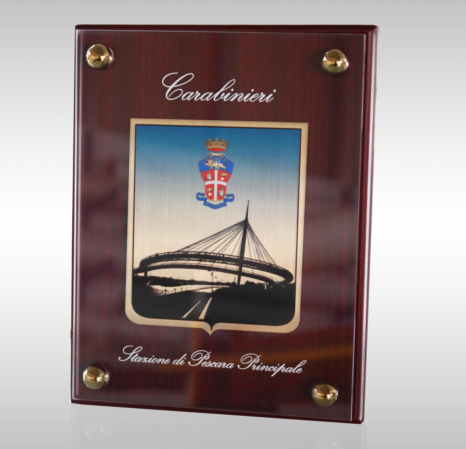 Quadro Personalizzato Carabinieri Pescara Principale