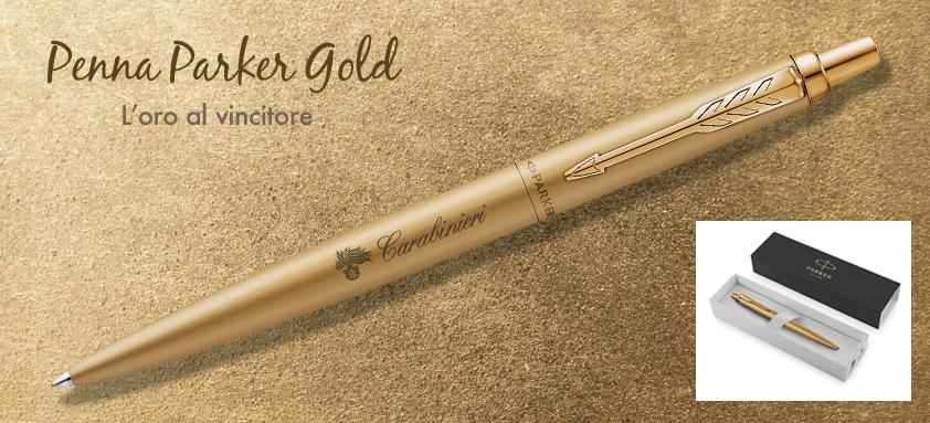 Penna Parker oro Carabinieri