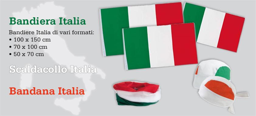 Bandiera Italia Collezioni Italia